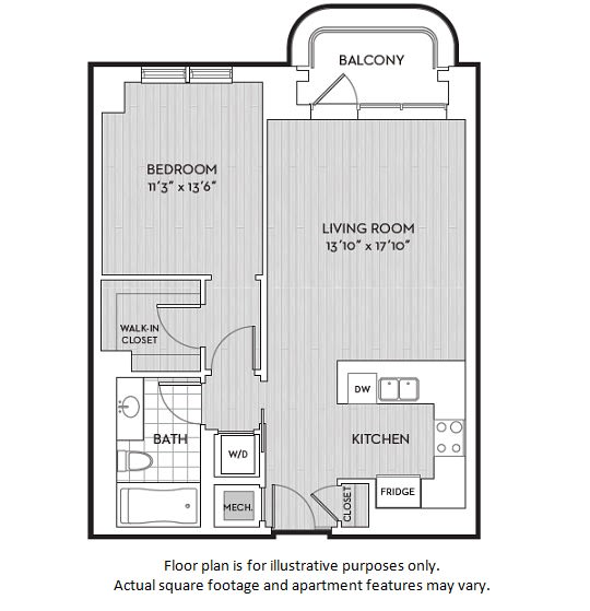 Floor Plan  A3(3) floor plan at The Woodley, Washington, DC 20008, opens a dialog