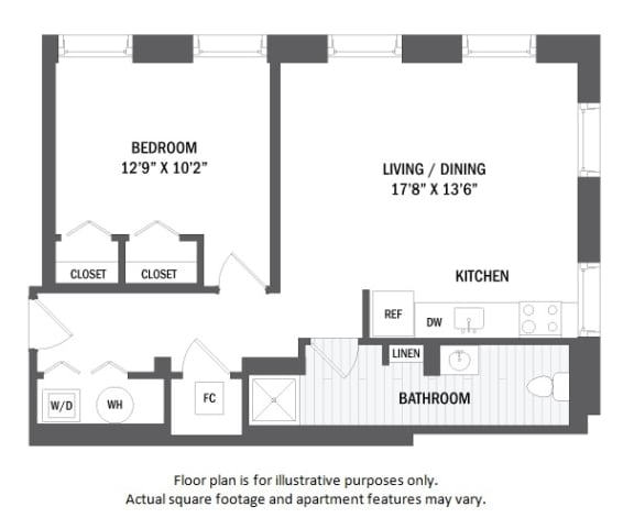 Floor Plan  A3(4) floor plan at Jack Flats by Windsor, MA, 02176