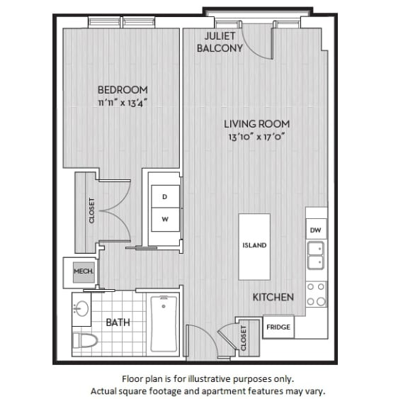 Floor Plan  A4(4) floor plan at The Woodley, 2700 Woodley Road, NW, Washington, DC, opens a dialog
