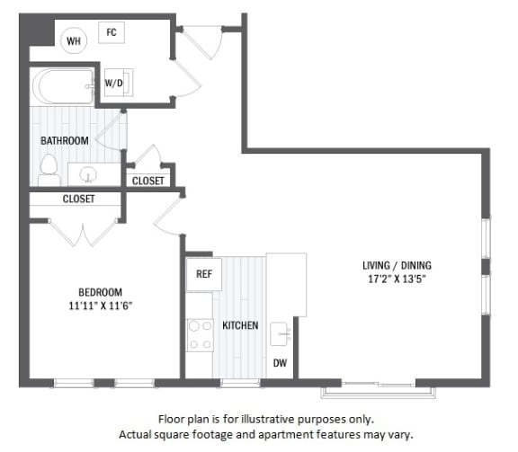 Floor Plan  A5(4) floor plan at Jack Flats by Windsor, Massachusetts, 02176