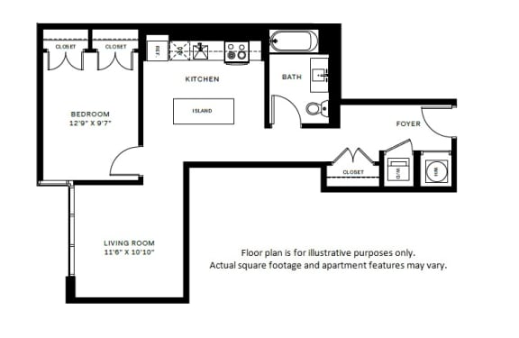 Floor Plan  A5 Floor Plan at 7770 Norfolk, Bethesda, 20814