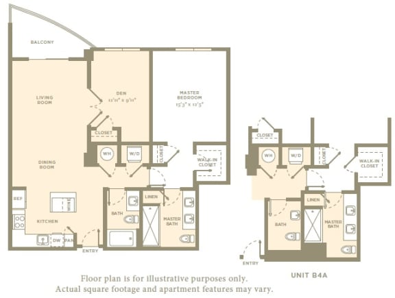 Floor Plan  A5 Floor Plan at Amaray Las Olas, 215 SE 8th Ave, Fort Lauderdale