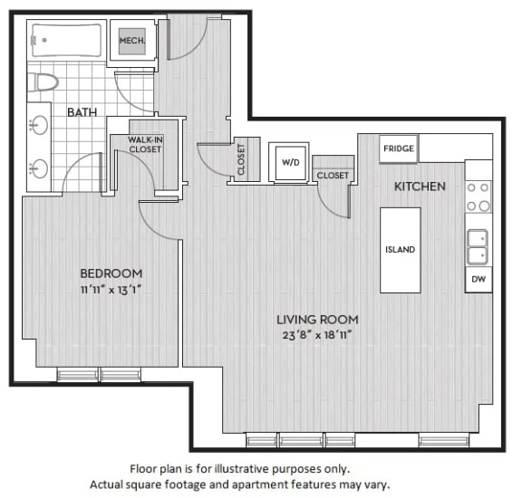 Floor Plan  A6(4) floor plan at The Woodley, 2700 Woodley Road, NW, 20008, opens a dialog