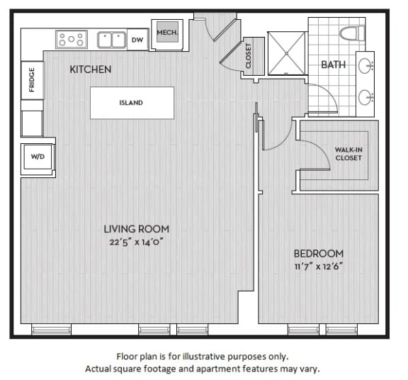 Floor Plan  A7(3) floor plan at The Woodley, Washington, DC 20008, opens a dialog