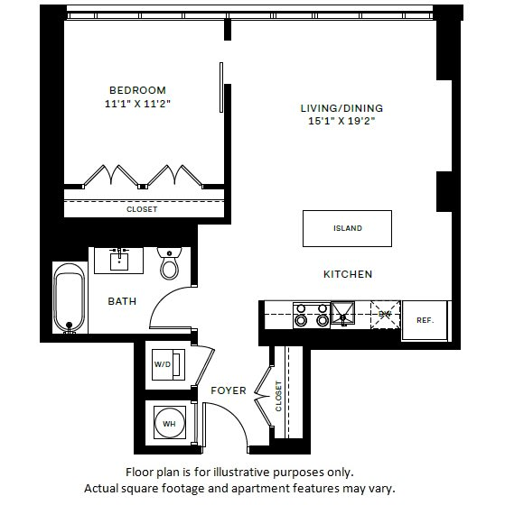 Floor Plan  A7 Floor Plan at 7770 Norfolk, Maryland, 20814, opens a dialog
