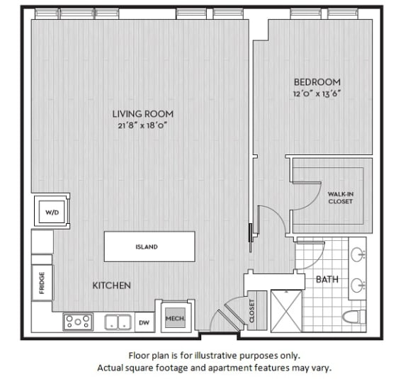 Floor Plan  A8(3) floor plan at The Woodley, 2700 Woodley Road, NW, Washington, DC