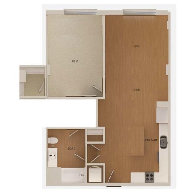 Floor Plan  A8b, opens a dialog