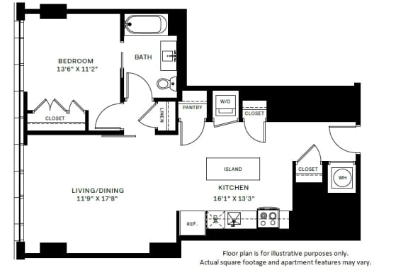 Floor Plan  A9 Floor Plan at 7770 Norfolk, Bethesda, 20814