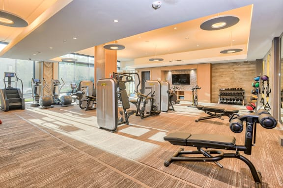 Fitness center at 7770 Norfolk, MD, 20814