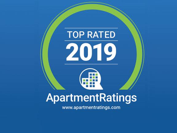 ApartmentRatings Top Rated 2019 Award at The Kensington, Pleasanton, CA