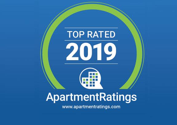 ApartmentRatings Top Rated 2019 Award at Windsor Shepherd, TX, 77007