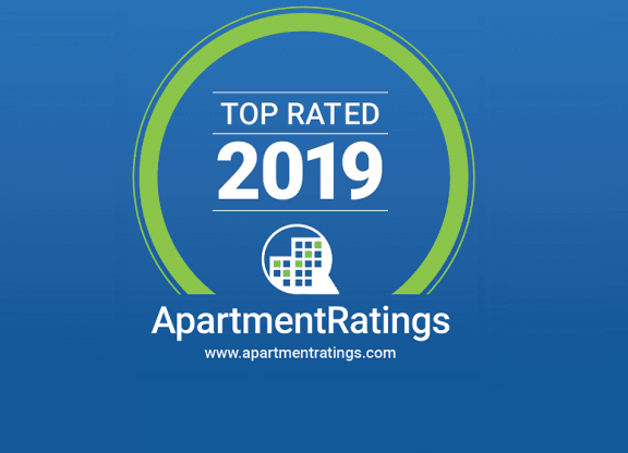 ApartmentRatings Top Rated 2019 Award at Windsor at Delray Beach, FL, 33483