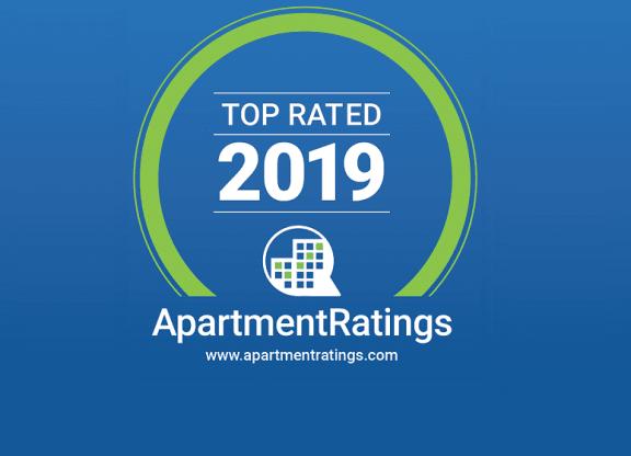 ApartmentRatings Top Rated 2019 Award at Platform 14, Hillsboro, Oregon
