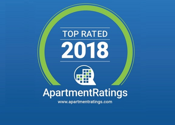 2018 Top Rated ApartmentRatings Award at Windsor at Meridian, Englewood, CO