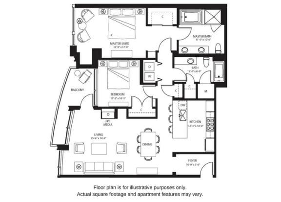 Floor Plan  B11 North