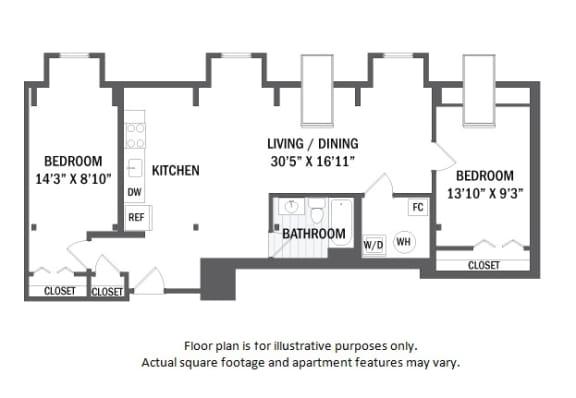 Floor Plan  B13 floor plan