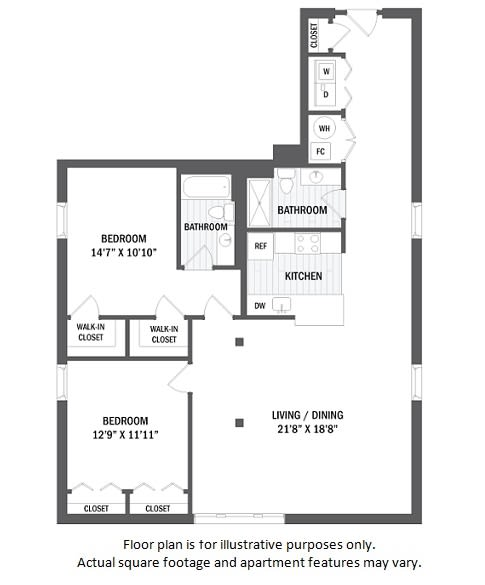 Floor Plan  B18(1) floor plan at Jack Flats by Windsor, Massachusetts, 02176