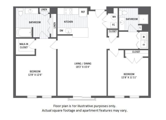 Floor Plan  B2(6) floor plan