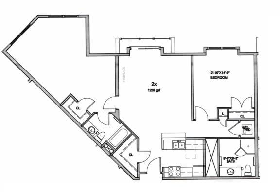 Floor Plan  B6, opens a dialog
