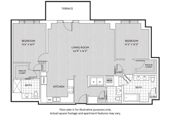 Floor Plan  B7(2) floor plan at The Woodley, Washington, DC 20008, opens a dialog