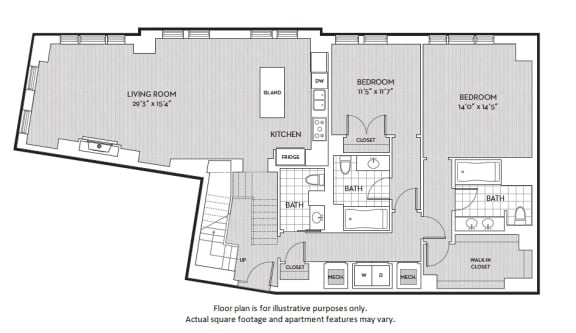 Floor Plan  B8(2) floor plan at The Woodley, 2700 Woodley Road, NW, Washington, DC, opens a dialog