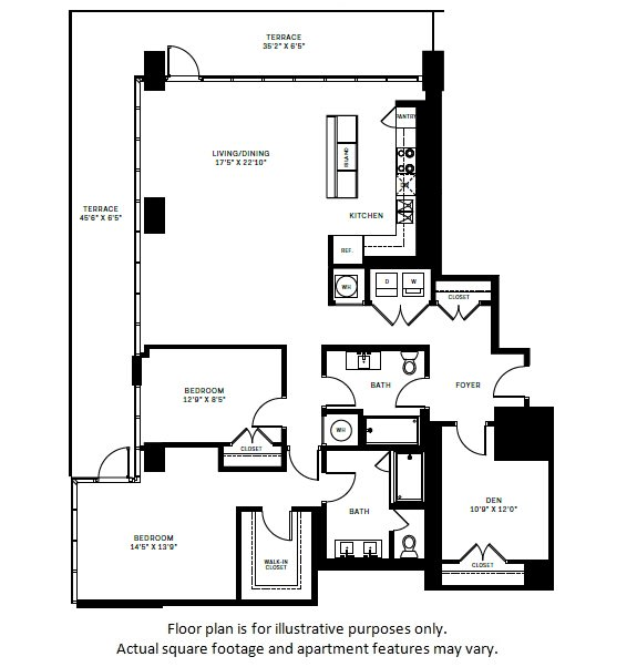 Floor Plan  C1 Floor Plan at 7770 Norfolk, Bethesda, MD, 20814