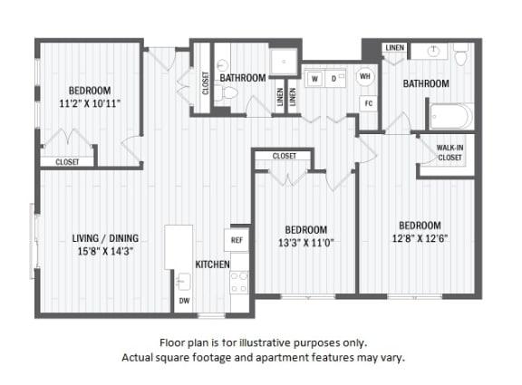 Floor Plan  C3(1) floor plan