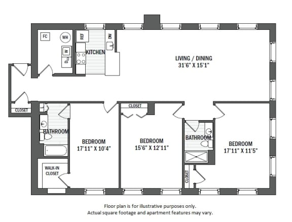 Floor Plan  C4(1) floor plan at Jack Flats by Windsor, MA, 02176 at Jack Flats by Windsor, Melrose, Massachusetts
