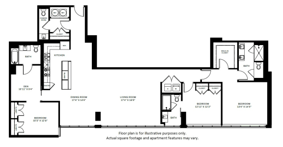 Floor Plan  C5 Floor Plan at 7770 Norfolk, Bethesda