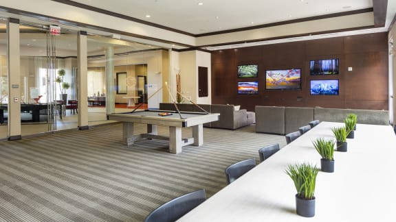 Resident clubroom at Domain by Windsor, TX, 77077