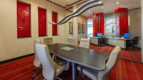 Conference room at Domain by Windsor, 1755 Crescent Plaza, 77077