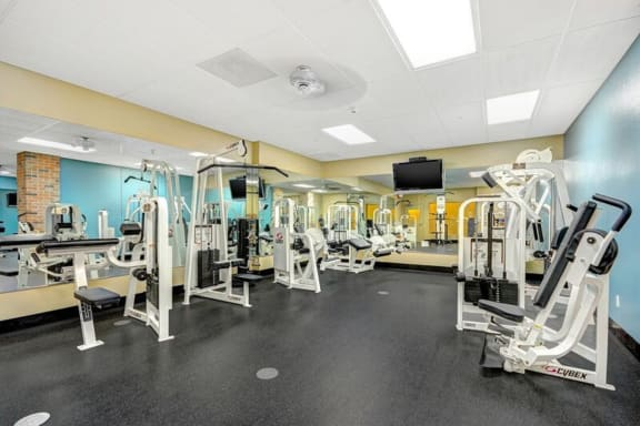 Fitness center at Terraces at Paseo Colorado, Pasadena, CA