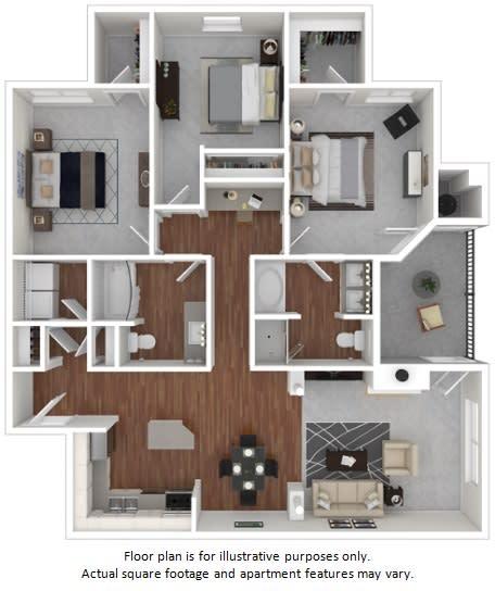 Floor Plan  Freesia floor plan at Windsor at Meadow Hills, Colorado, 80014