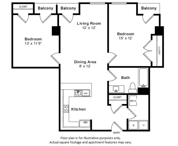Floor Plan  Houston Floor Plan at The Manhattan Tower and Lofts, Colorado, 80202