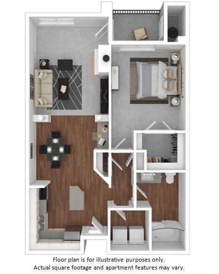 Floor Plan  Integra floor plan at Windsor at Meadow Hills, Colorado, 80014
