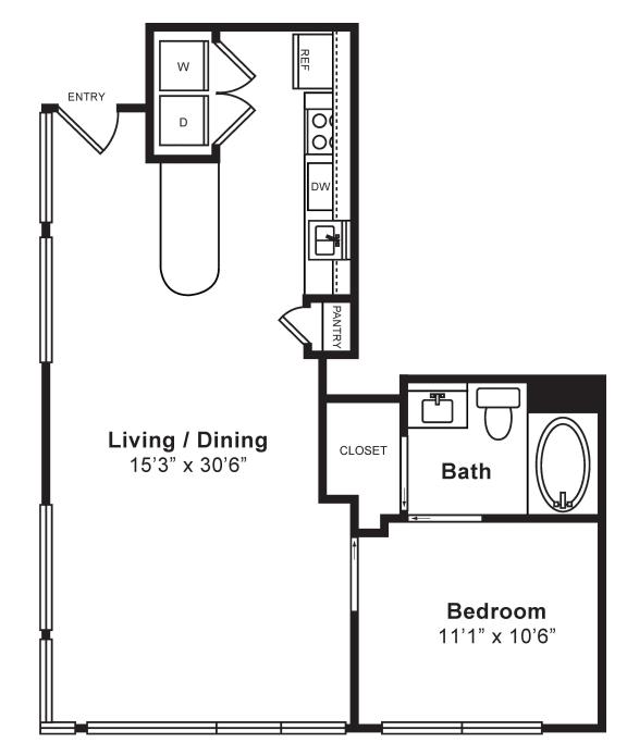 Floor Plan  L-W4