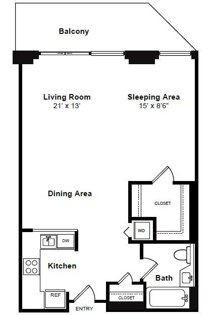 Floor Plan  Lenox Floor Plan at Windsor at Mariners, NJ, 07020