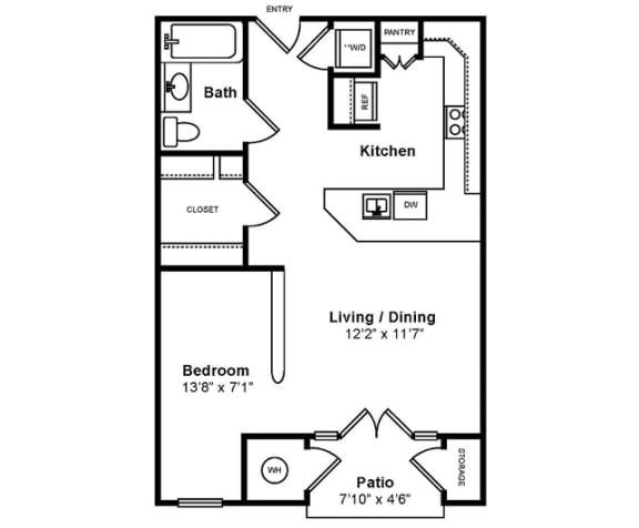 Floor Plan  M_Messina Floor Plan at Windsor at Midtown, Aurora, CO, opens a dialog