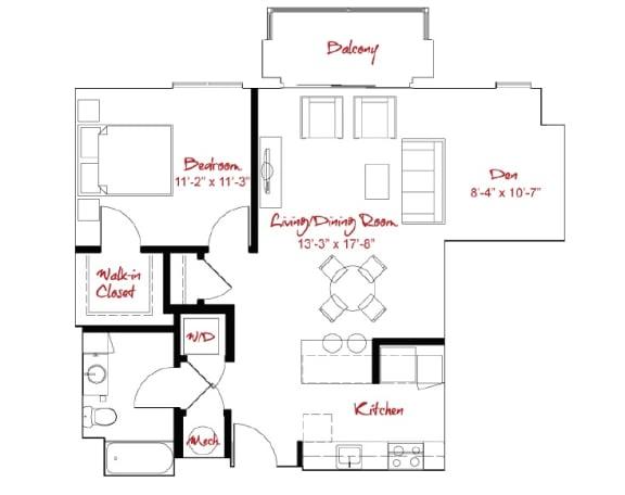 Floor Plan  A1D