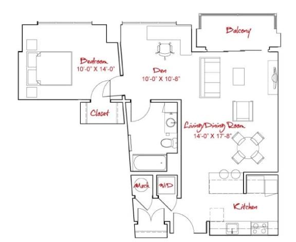 Floor Plan  A7D