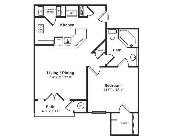 Floor Plan  Midtown_Siena(2) Floor Plan at Windsor at Midtown, CO, 80014, opens a dialog