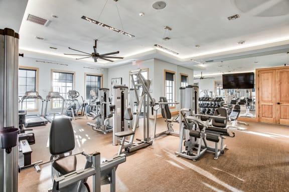 Fitness center at Mirador at Doral by Windsor, Doral, Florida