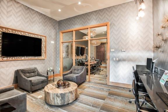 Business center at Mirador at Doral by Windsor, FL, 33122