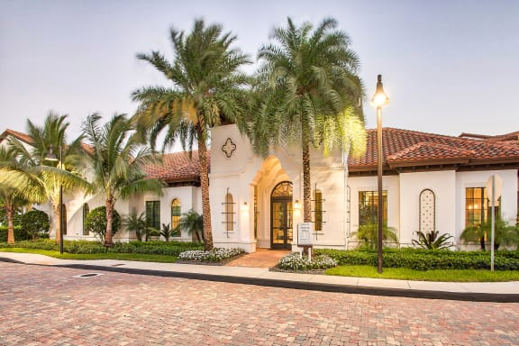 Front entrance at Mirador at Doral by Windsor, 2541 NW 84th Ave, 33122