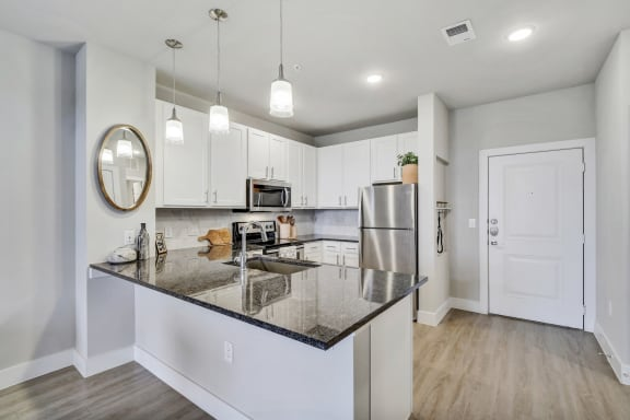 Gourmet Kitchens with Prep Islands at Windsor Ridge, Austin