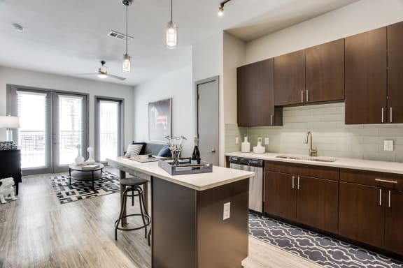 Chef-Inspired Kitchen at Windsor West Lemmon, Dallas, Texas