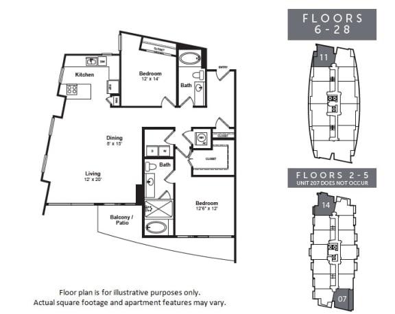 Floor Plan  B2, opens a dialog