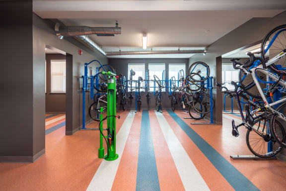 Bike Storage & Repair Room at Blu Harbor by Windsor, 1 Blu Harbor Blvd, CA