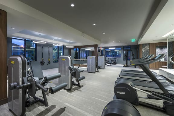 Fitness center at Cannery Park by Windsor, California, 95112