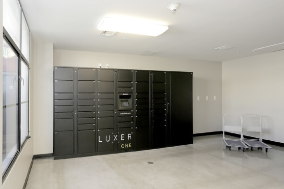 Package lockers at Terraces at Paseo Colorado, 375 E. Green Street, 91101